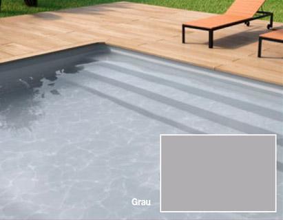 Styroporpools mit treppe fertige stufenauspr gung im for Swimming pool folie erneuern