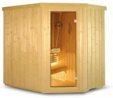Sauna Variant Line S2015R, 195x150x203 cm, 3 Personen