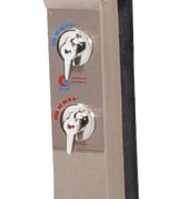 Kaltwasserhahn für Solardusche Edelstahl (MP50596)