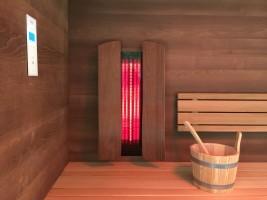 Premium-Infrarotset für Sauna