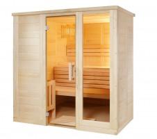 Sauna Komfort Small, 158x208x204 cm, 3 Personen