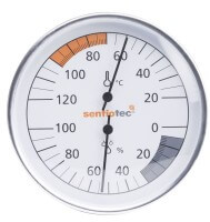 Thermo-Hygrometer Basic 100 mm