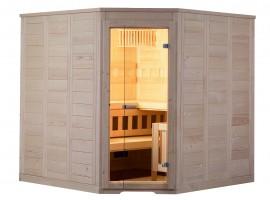 Sauna Wellfun Corner, 205,2x205,2x204 cm, 3 Personen