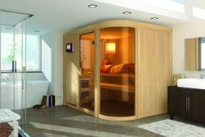 Sauna Parima 4, 231x170x198 cm, 2 Personen