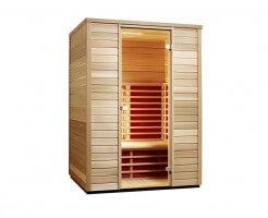 Infrarotkabine TrioSol Cedar 145, 145x110x198 cm, Abverkaufskabine