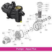 O-Ring Deckel für AquaPlus 4/6/8