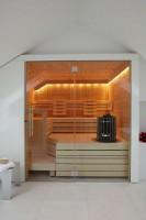 Sauna Cupreme, ab 199x188x219 cm, 3 - 4 Personen