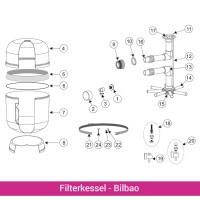 Entleerung komplett für Filterkessel Bilbao