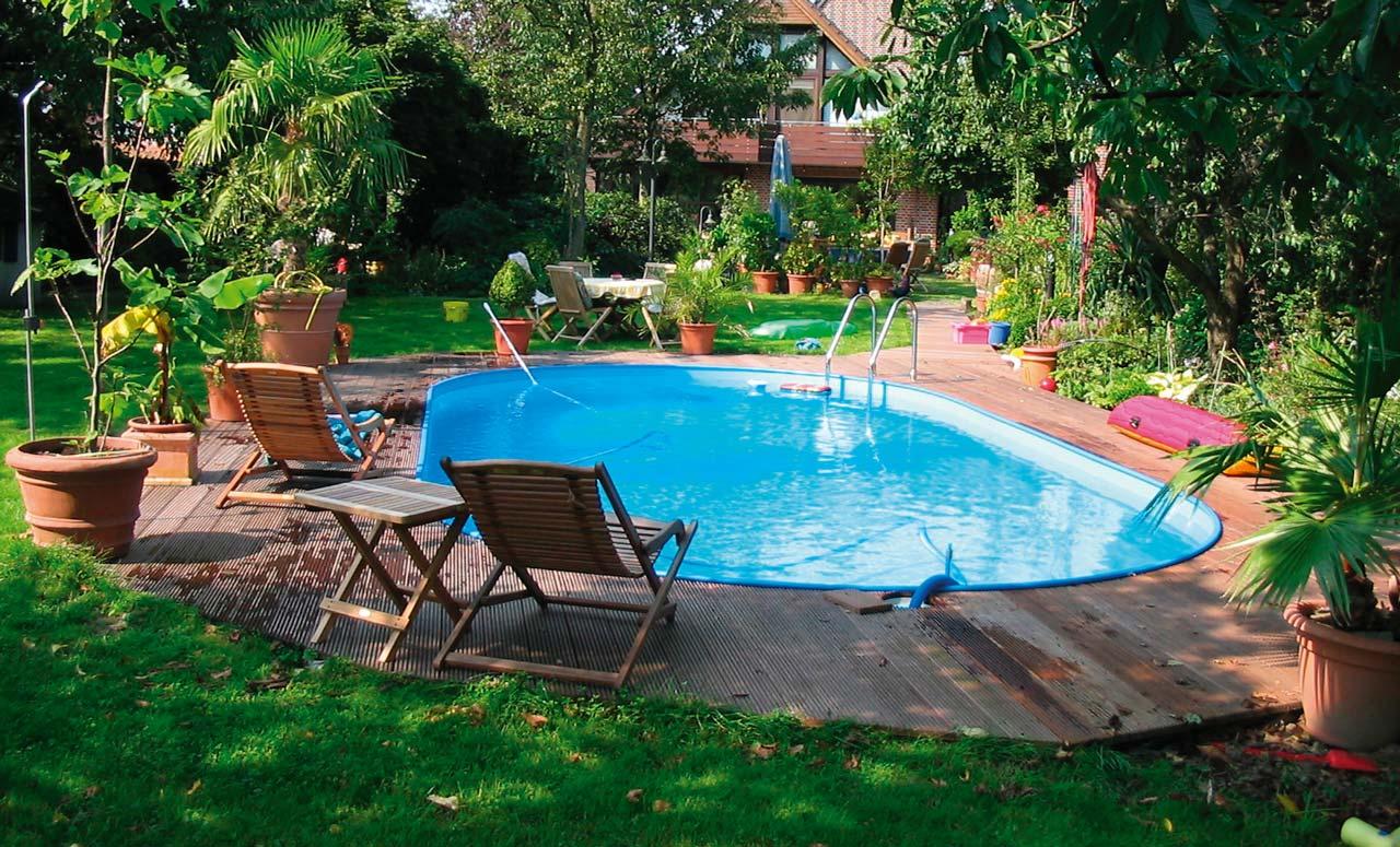 Ovalpools elegante schwimmbecken f r wahren schwimmgenuss for Swimmingpool abverkauf