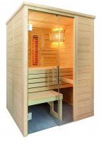 Sauna Alaska Mini, 110x160x204 cm, 2 Personen