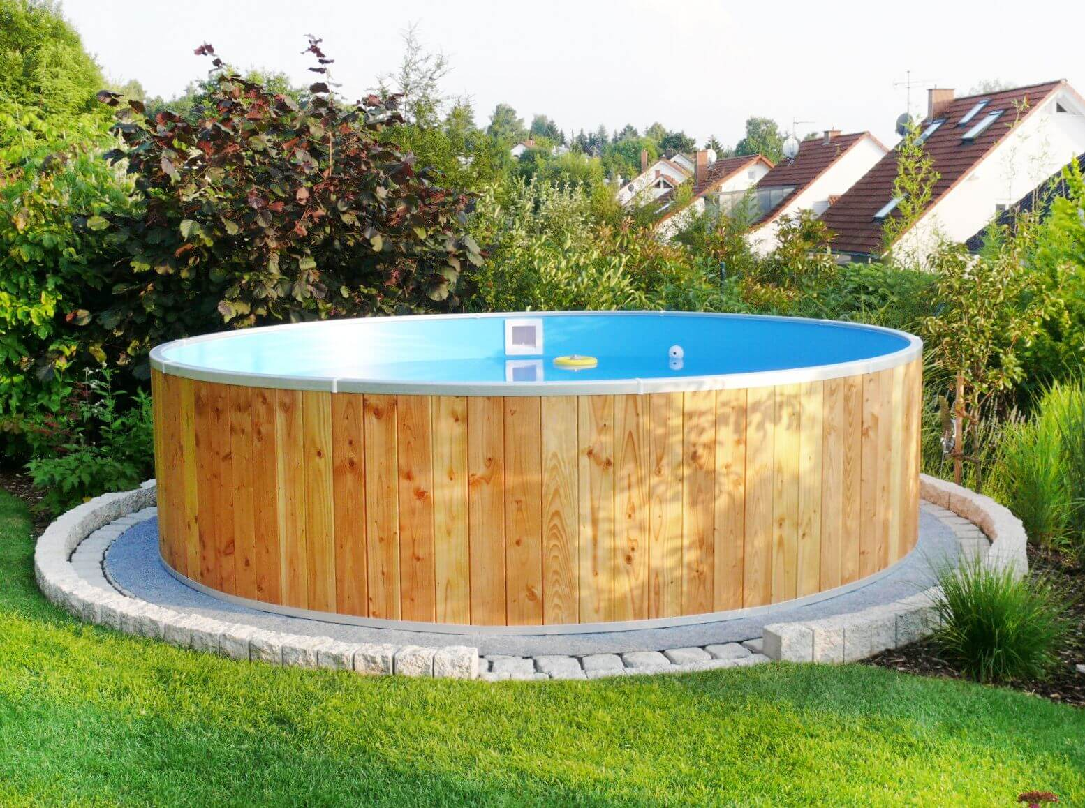 Bester aufstellpool holz begriff wickedtickets for Holzpool obi