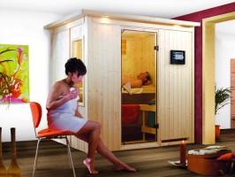 Sauna Bodin, 210x165x202 cm, 2 Personen