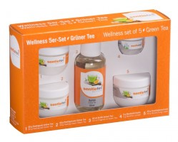 Wellness 5-er Set, Grüner Tee