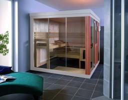 Sauna Vogue, 203x203x195 cm, 3 Personen