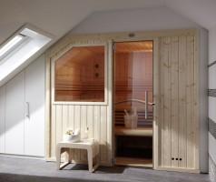 Sauna Ambiente, ab 151x151x204 cm, 3 Personen