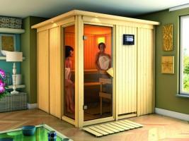 Sauna Helin, 210x210x202 cm, 3 Personen