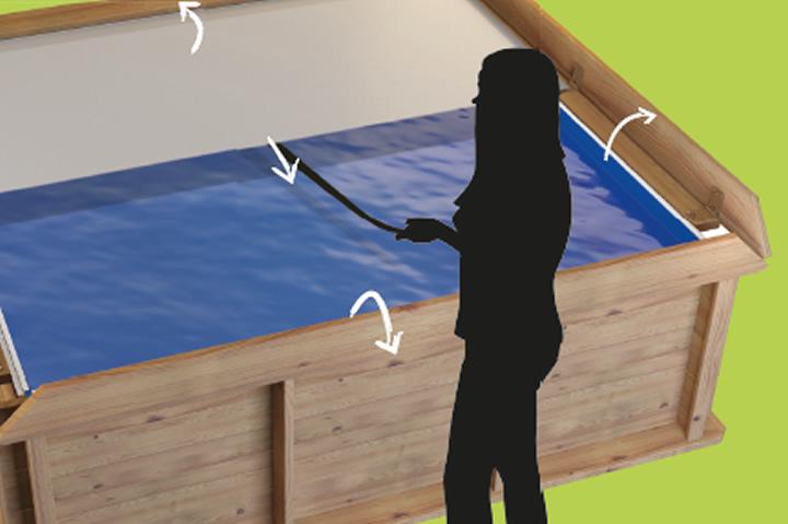 massivholz kinderpool procopi pistoche online kaufen. Black Bedroom Furniture Sets. Home Design Ideas
